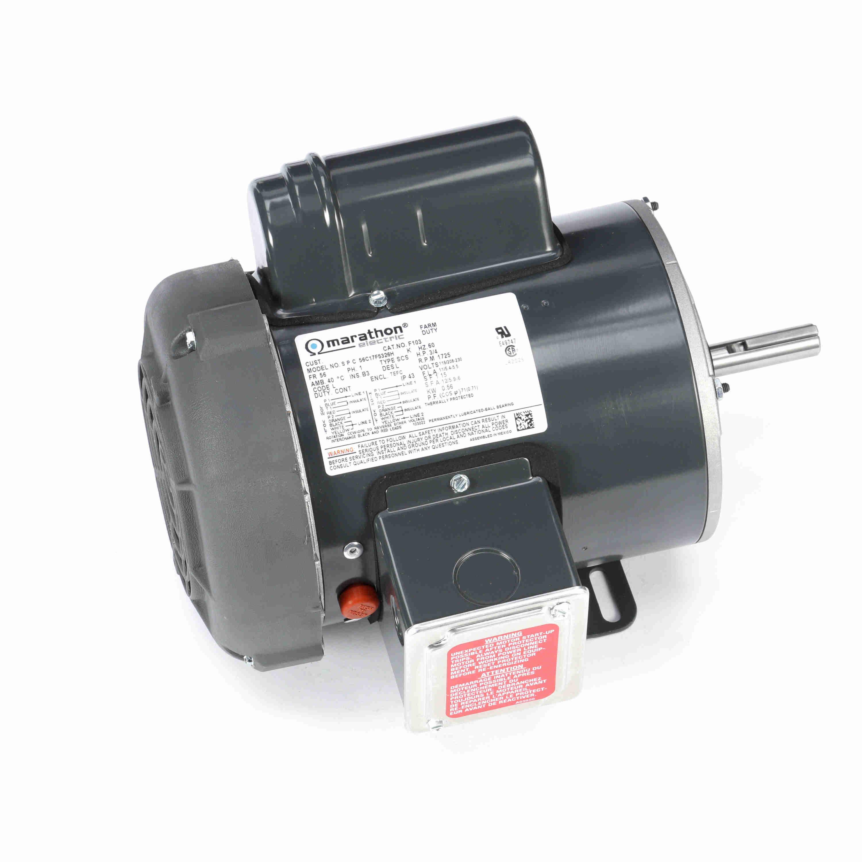 leeson motor capacitor wiring diagram seven way trailer regal beloit   marathon motors 056c17f5326 f103