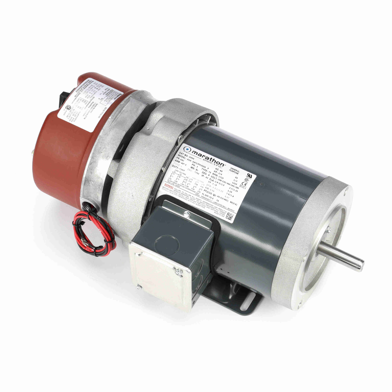 stearns motor brake wiring diagram electric start capacitor regal beloit marathon motors 056t17f5350 d454