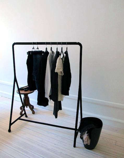 storage turbo clothes rack from ikea