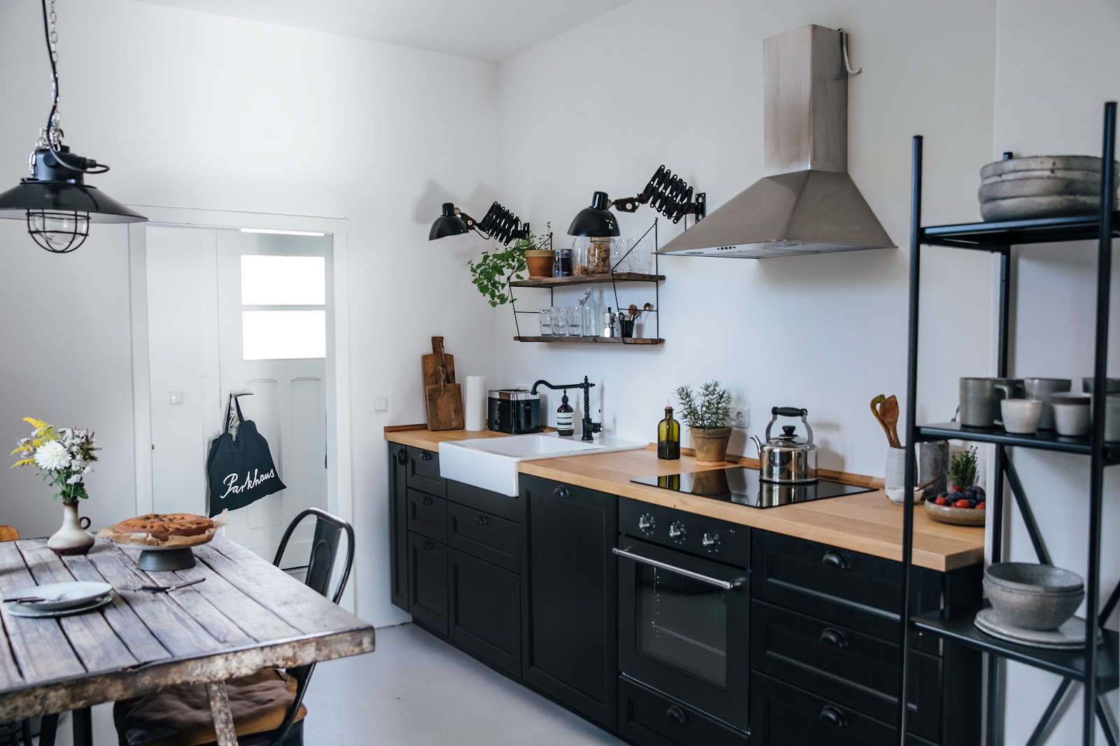 Kitchen Of The Week A Diy Ikea Country Kitchen For Two Berlin Creatives Remodelista