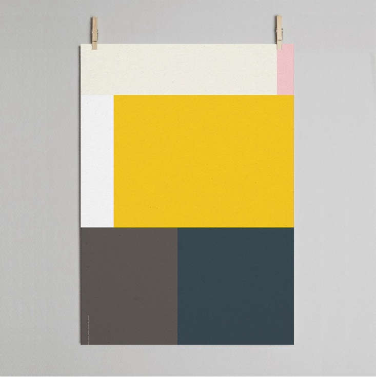 colorful geometric art prints and posters