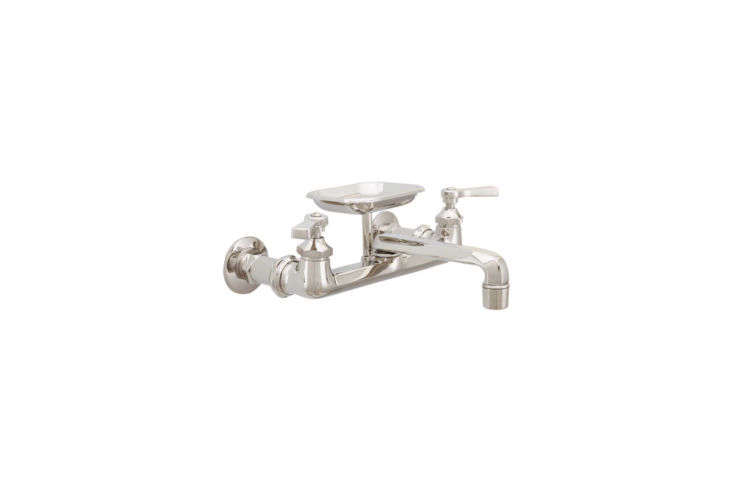 wall mounted kitchen faucets with soap