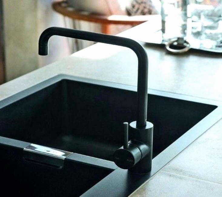 matte black kitchen faucets