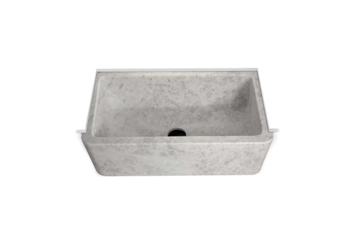 marble farmhouse kitchen sinks