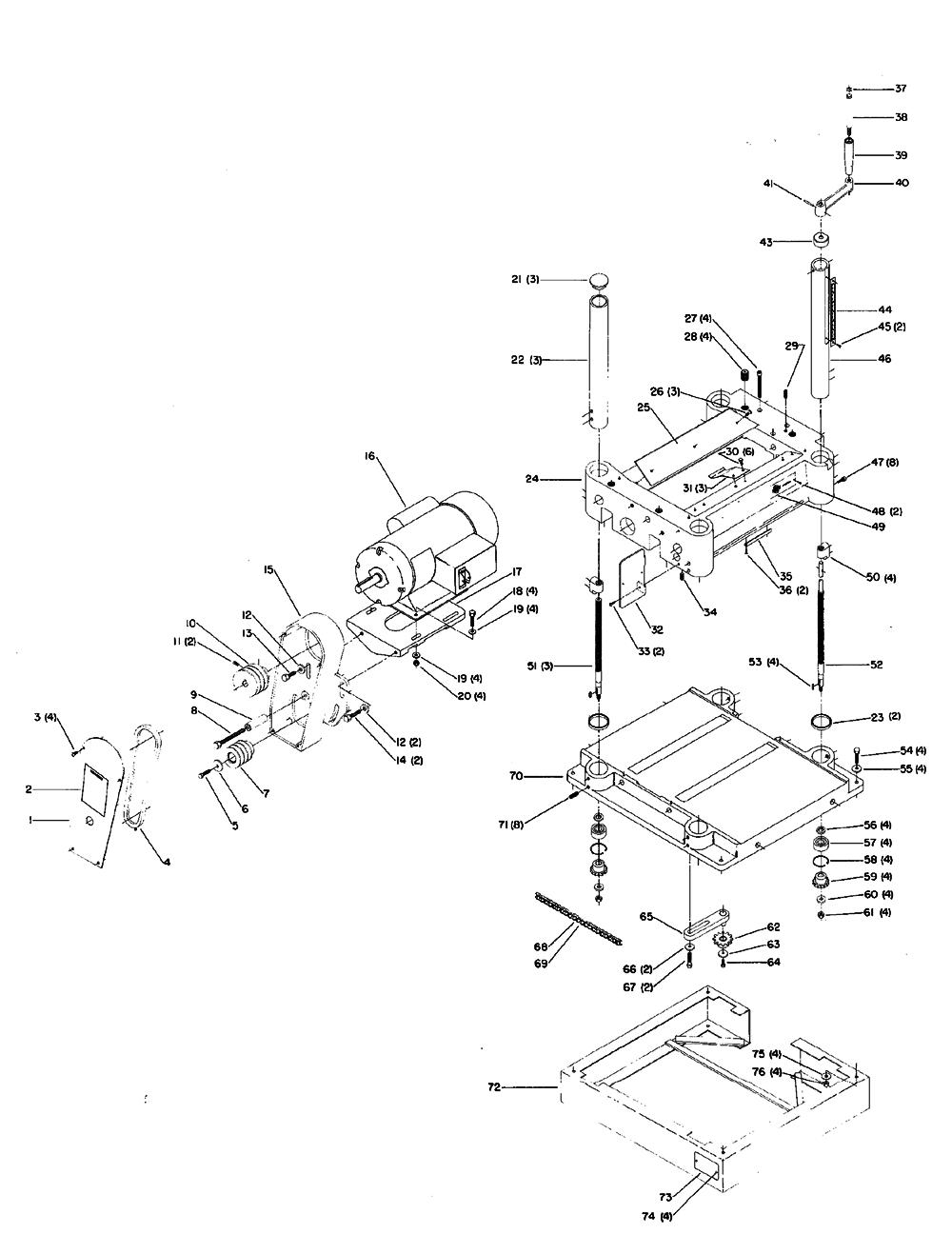 Craftsman Welder Wiring Diagram Drill Press Wiring Diagram