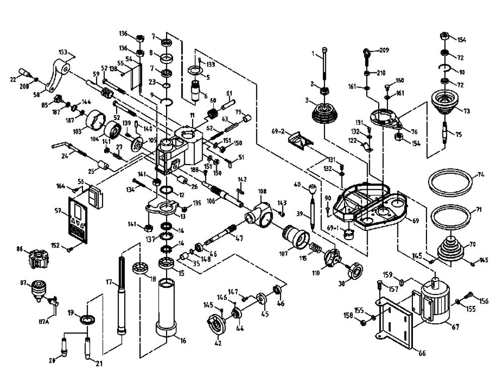 Bridgeport Milling Machine Parts Diagram Bridgeport J Head