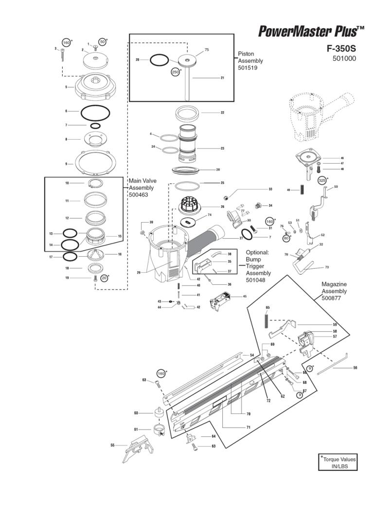 Paslode Trim Nailer Parts Reviewmotors Co