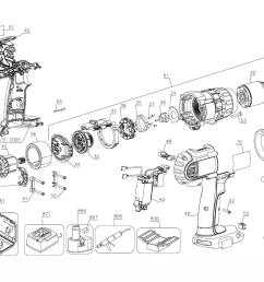 dewalt dcd970kl type 3 parts schematic [ 1000 x 837 Pixel ]