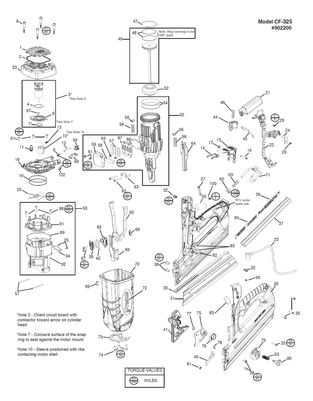 Paslode Parts Schematics Pictures to Pin on Pinterest
