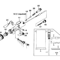 Devilbiss Spray Gun Parts Diagram Wiring For A Sony Car Radio Asp009 Type 1 List Repair Schematic