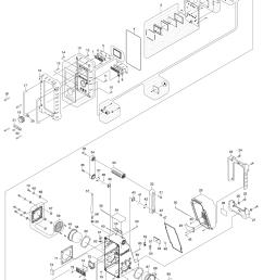 makita bmr100 parts schematic [ 1000 x 1426 Pixel ]