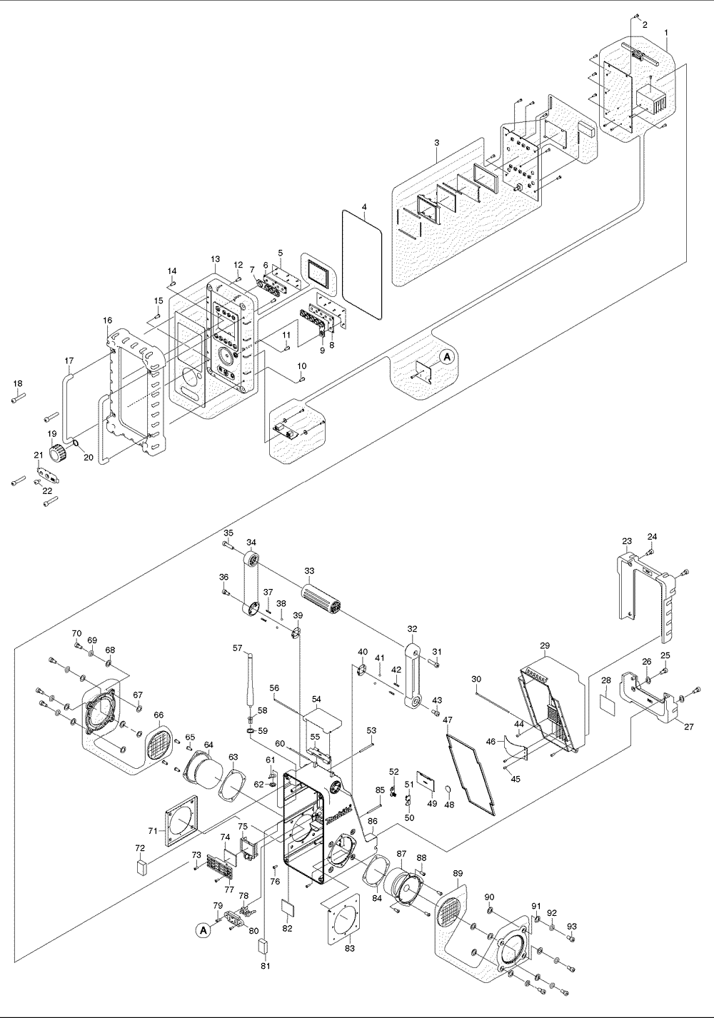 hight resolution of makita bmr100 parts schematic