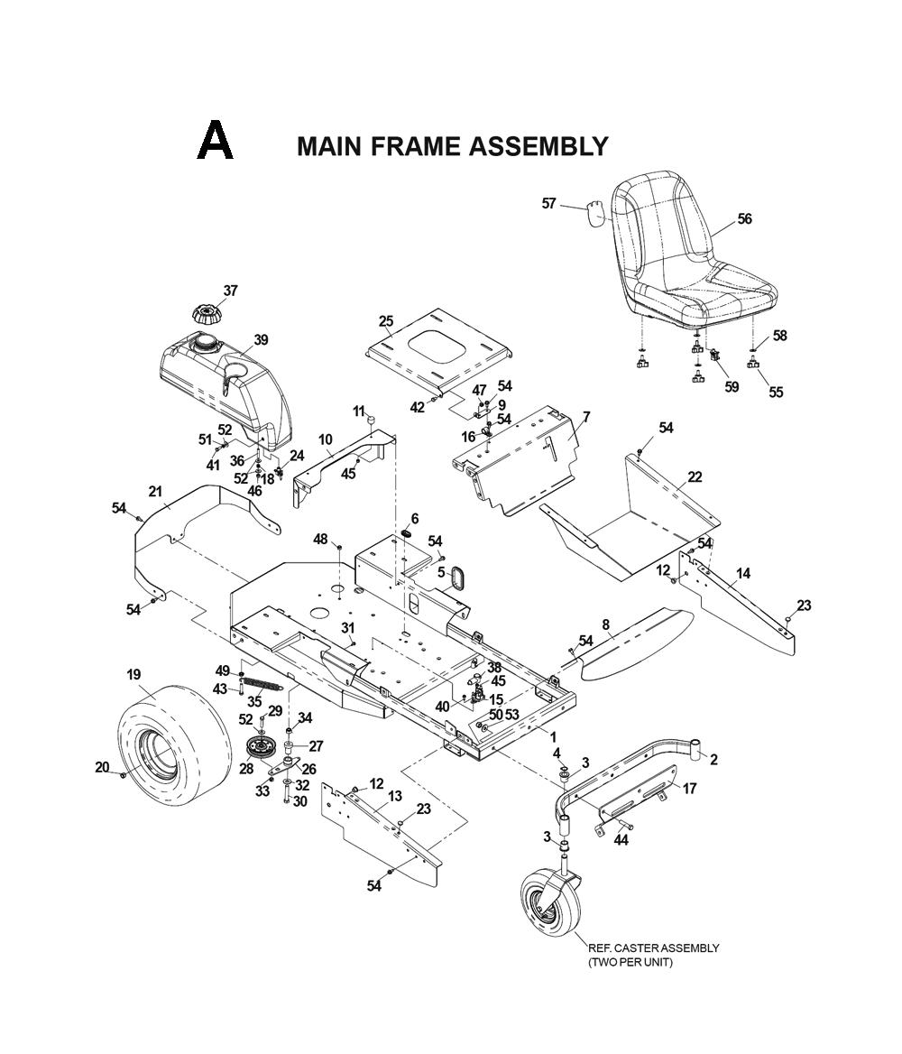 husqvarna lawn mower parts diagram 08 sv650 wiring schematics libraryhusqvarna cz4817 i0203025 schematic
