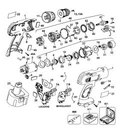 dewalt d991k 04 type 1 parts schematic [ 1000 x 1090 Pixel ]