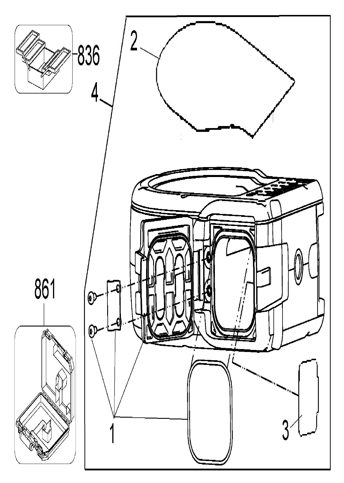 Dewalt Dw082k Parts List