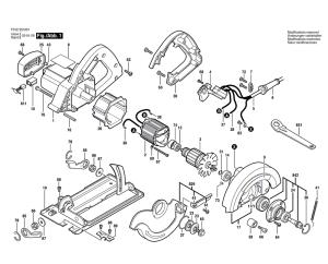Skil HD5510(F012551001) Parts List | Skil HD5510(F012551001) Repair Parts | OEM Parts with