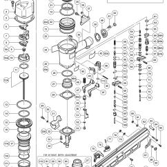 Hitachi Nail Gun Parts Diagram Bulldog Wiring Diagrams Nr83a2(y) List | Repair Oem With Schematic