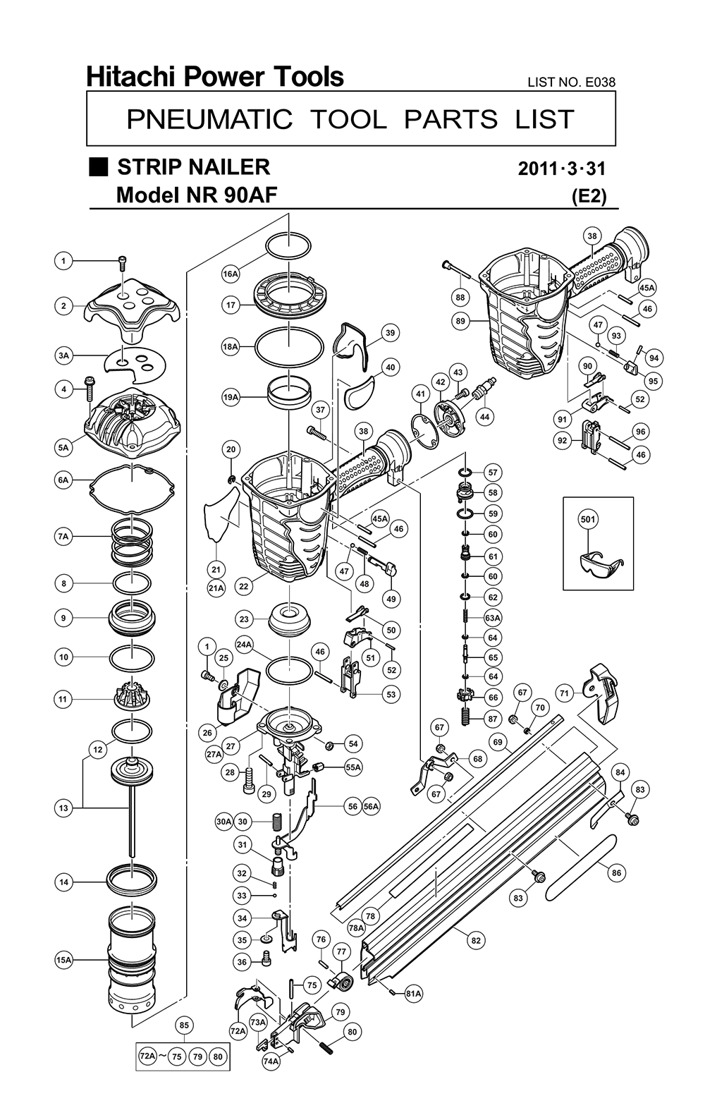 Hilti Te72 Wiring Diagram Powder Actuated Tools Diagrams Zx7r Free Universal Engine Te 70 72