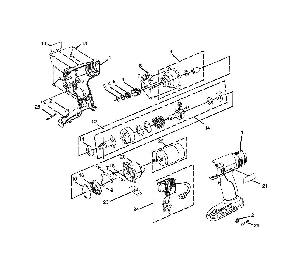 medium resolution of  sig sauer drawings ryobi p230 repair parts