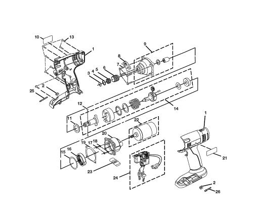 small resolution of  sig sauer drawings ryobi p230 repair parts