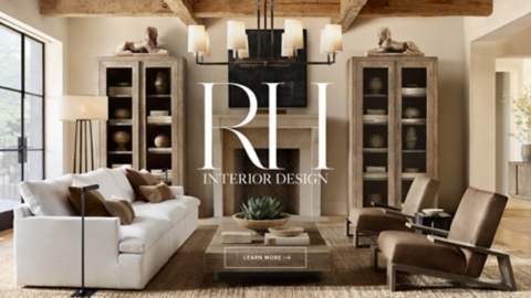 sectional sofa dallas fort worth steel chair rh homepage schedule your interior design consultation