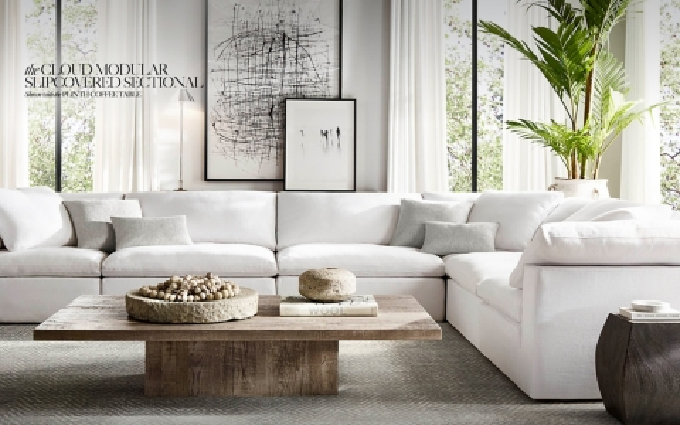 italia sofa rh vercart bed large filled triangular wedge cushion homepage