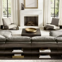Restoration Hardware Living Room Decorating Wall Units Rh Modern Homepage The Cloud Meets Its Match