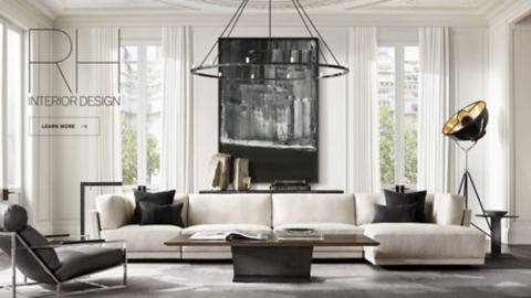 restoration hardware living room hanging ceiling lights rh modern homepage imagine yourself here schedule your interior design consultation