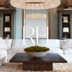 Restoration Hardware Living Room Moroccan Inspired Chicago Rh The Gallery At Three Arts Club