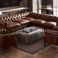 Kensington Leather Sofa Restoration Hardware Caliaitalia Review Couch Tyres2c Customizable Sectional Next Mini Rooms With