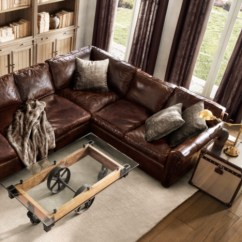 Leather Sofas Tulsa Lowe S Canada Sofa Tables Restoration Hardware Sectional Soho Tufted Sectionals ...
