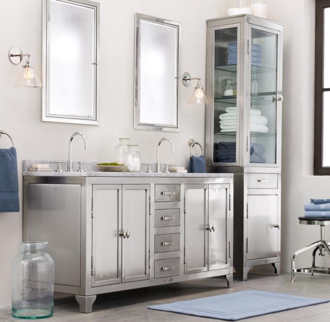 framed medicine cabinets brushed nickel