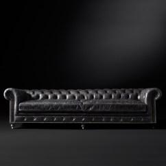 Kensington Leather Sofa Restoration Hardware Power Recliner Color Preview Unavailable Alternate View 1 2 3 4