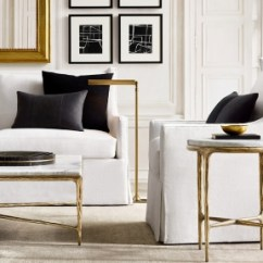Restoration Hardware Living Room Help Me Decorate My Walls Rooms Rh Shop Sloane Wingback