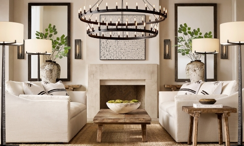 restoration hardware living room ideas cream carpet rooms rh shop cloud slope arm