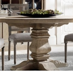 Kitchen Table Round White Washed All Oval Tables Rh Shop