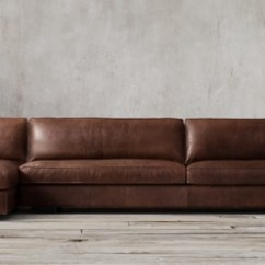 Leather Sectional Sofa Restoration Hardware Cover Blankets Collections Rh Maddox Sectionals
