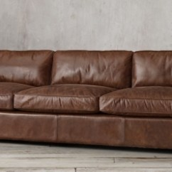 Chelsea Leather Sofa Brown Suede Bed Seating Collections | Rh