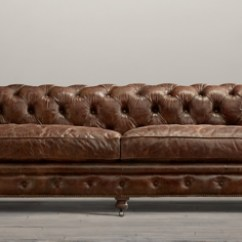 Kensington Leather Sofa Restoration Hardware Kendall Bed With Chaise Collection Rh
