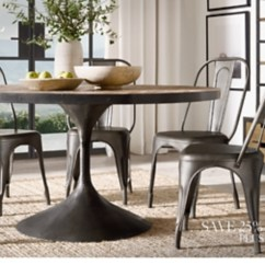 Dining Table With Metal Chairs Replacement Chair Feet Wood Seating Rh Shop All