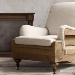 Leather Sofa Chair Beds Bay Area Ca Deconstructed Chairs | Restoration Hardware