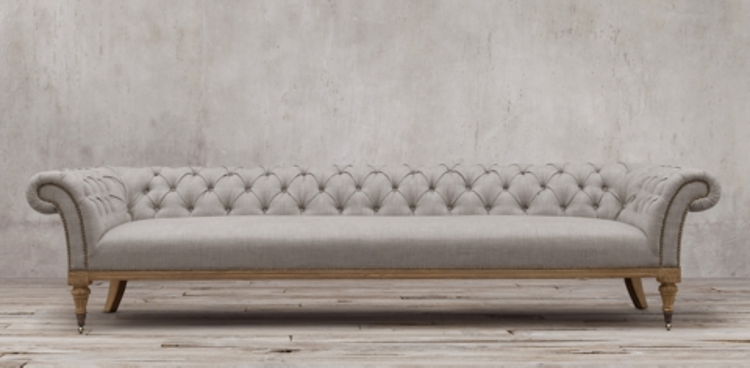 belgian shelter arm sofa baxton studio linden tan microfiber convertible sectional seating collections   rh