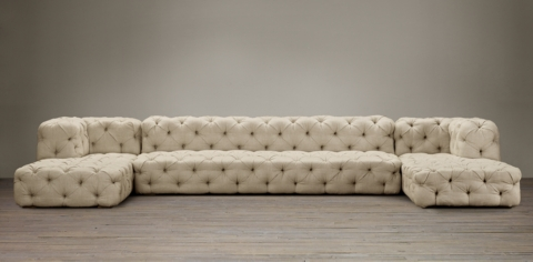 leather sectional sofa restoration hardware comfortable bed uk collections rh soho tufted sectionals
