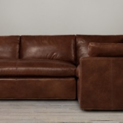 Leather Sectional Sofa Restoration Hardware Fix Bed Belgian Track Arm Sectionals Rh
