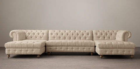 leather sectional sofa restoration hardware cheap two seater cambridge sectionals rh