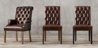 Restoration Hardware Leather Dining Chair - Dining room ideas