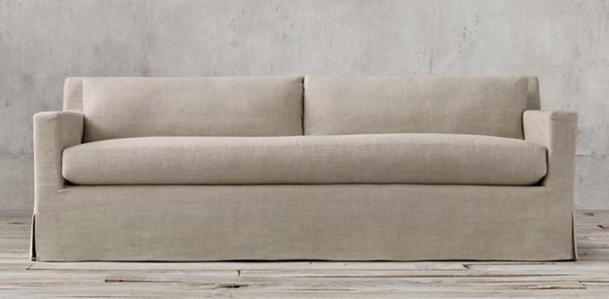 belgian linen sofa mammoth z gallerie petite track arm sofas rh