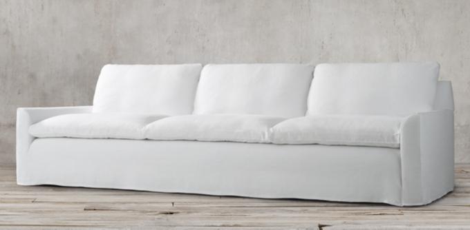 restoration hardware sectional sofa linen set under 500 ravello collection rh