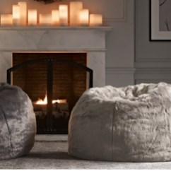 Restoration Hardware Beanbag Chair Plastic Porch Chairs Ultra Faux Fur Bean Bag Collection Rh