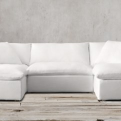 Down Filled Leather Sectional Sofa Suede Set The Cloud Pee Modular Sectionals Rh - Thesofa